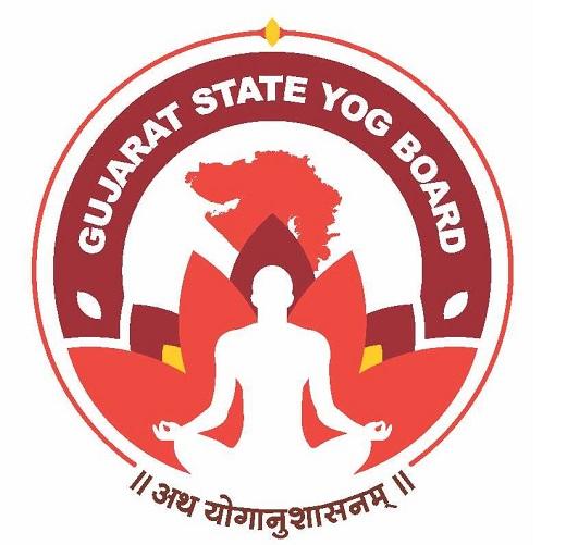 Gujarat State Yog Board logo