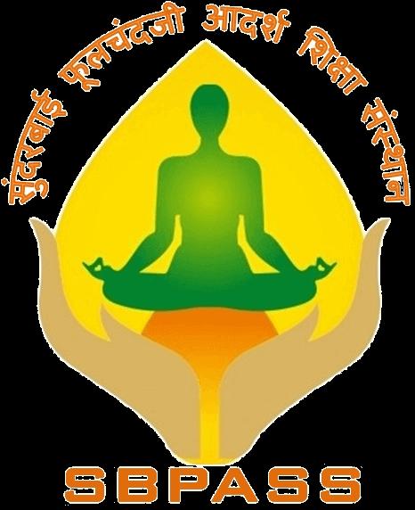 Sunderbai Phoolchand ji Adarsh shiksha sansthan logo